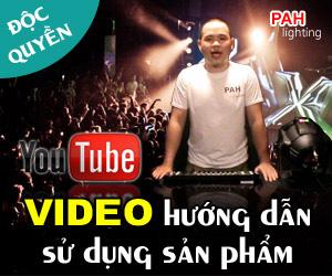 Tổng hợp video Youtube hướng dẫn sử dụng thiết bị điều khiển DMX 512 - 192