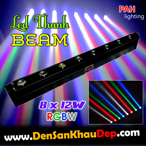led thanh beam rainbow colors