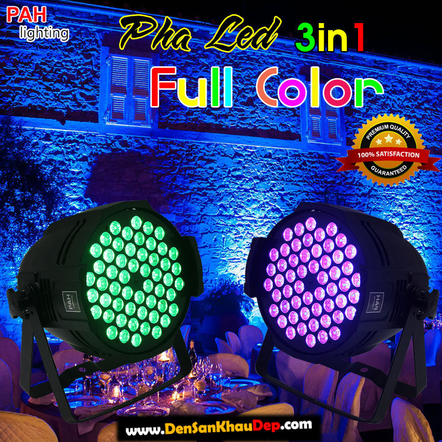 Pha LED 54 full color 3in1