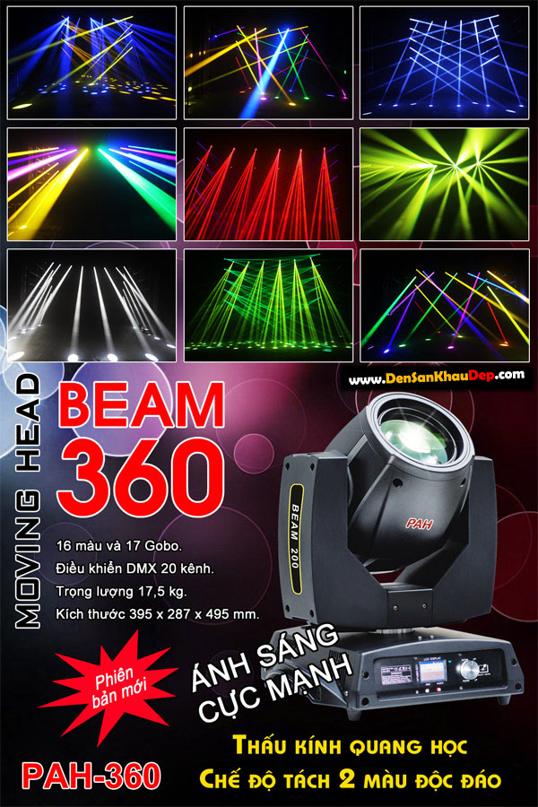 Beam 200, moving 360