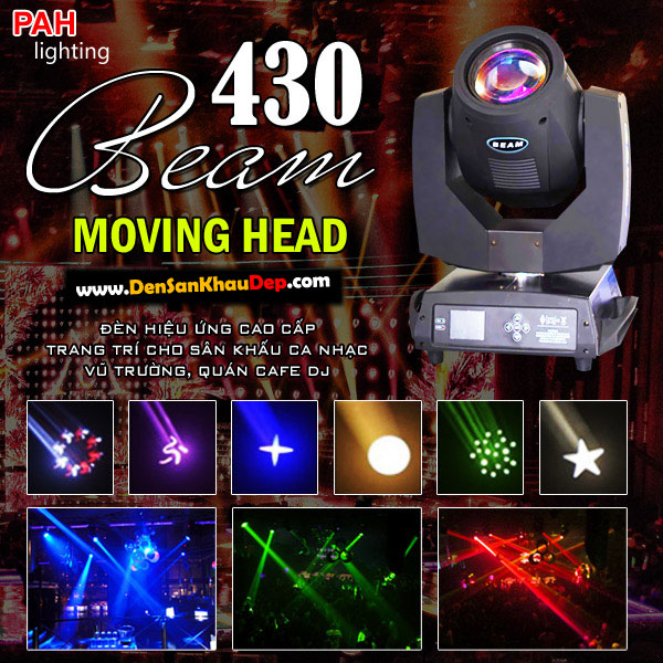 Đèn moving head beam 430