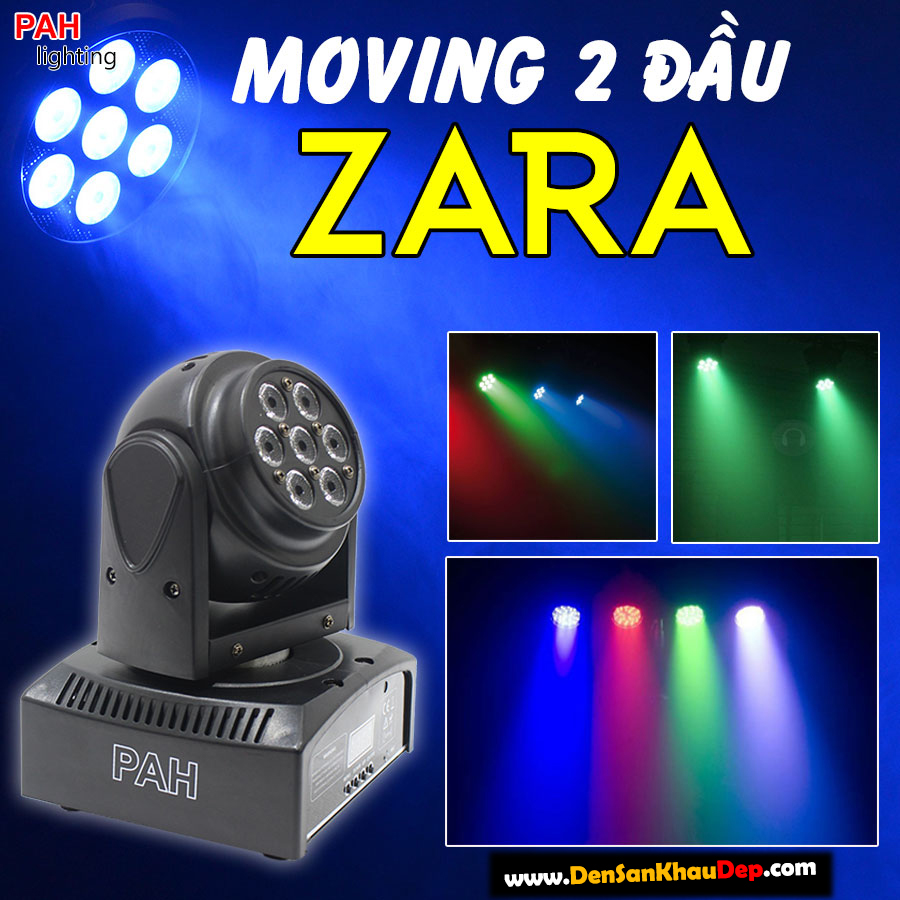 Moving 2 đầu 14 bóng LED