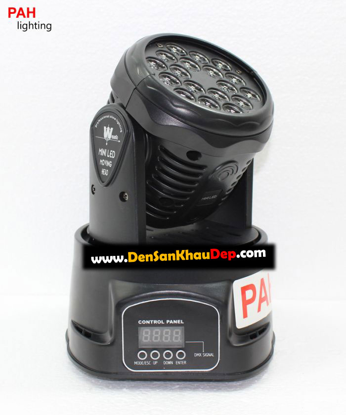 Led Moving head beam 18 x 3w