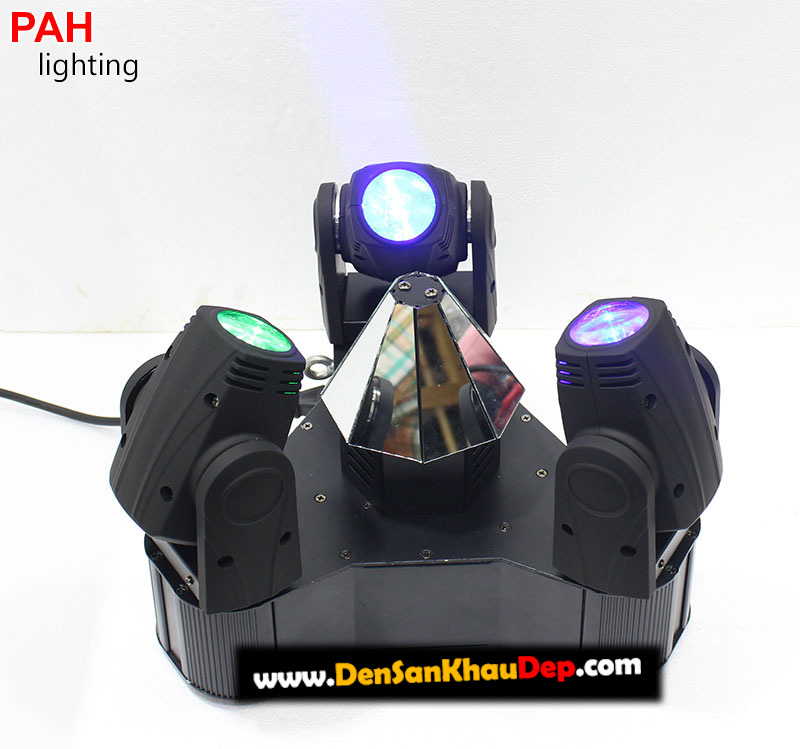 Moving head LED 3 đầu