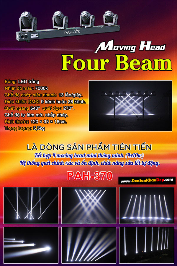 Moving head Four Beam