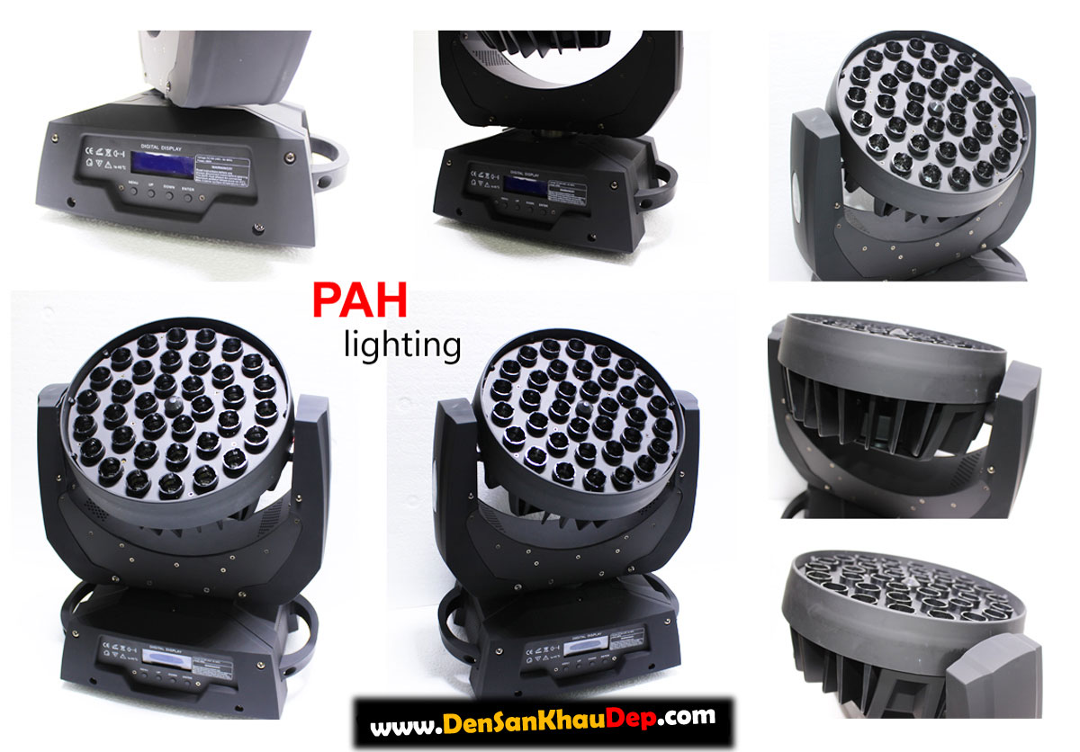 Moving head led beam zoom radar thế hệ mới