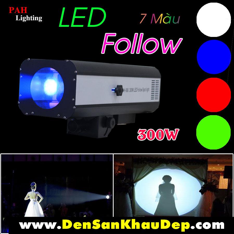 Đèn Follow Led 300w