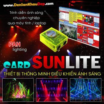 Thiết bị điều khiển Card Sunlite