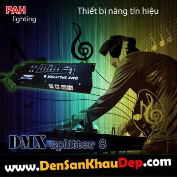 Thiết bị tăng tín hiệu DMX 8 line