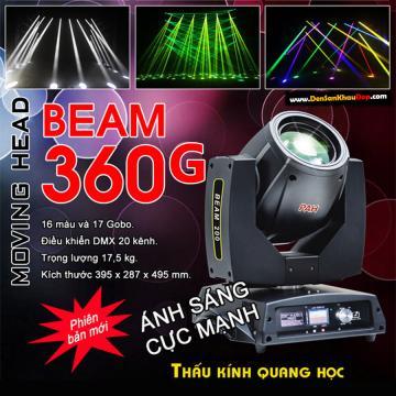 Moving head beam 360G