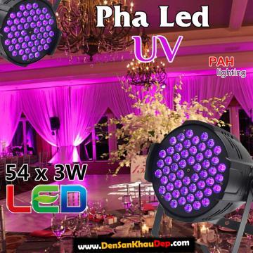 Pha LED UV 54 bóng