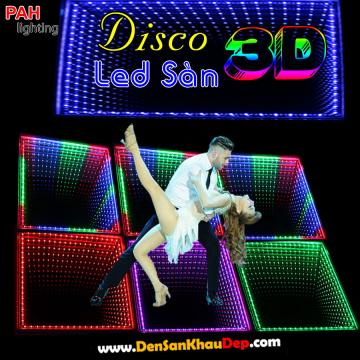 LED sàn Disco 3D