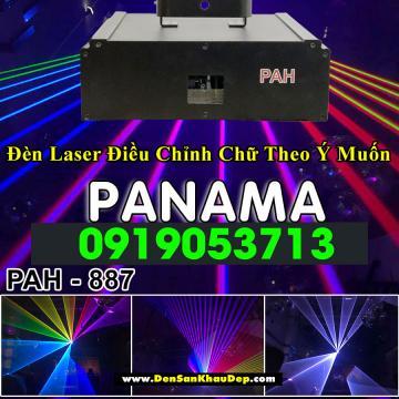 Đèn laser 7 màu Panama