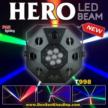 Đèn LED beam 8 mắt cho phòng bay