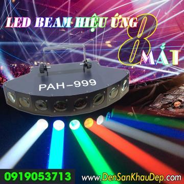 Đèn LED Beam 8 mắt siêu sáng