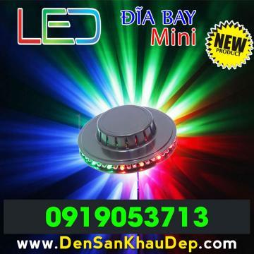 LED đĩa bay mini giá rẻ trang trí Karaoke