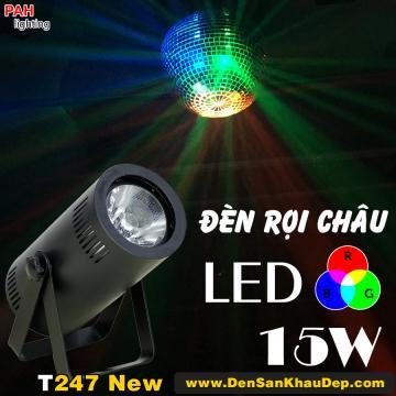 Đèn LED Full màu rọi cầu gương