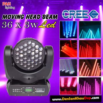 Moving beam Led 36 RGBW