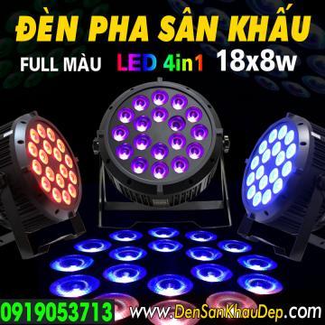 Đèn pha sân khấu LED 18x8W