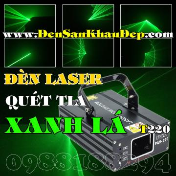 Laser xanh lá quét tia giá rẻ