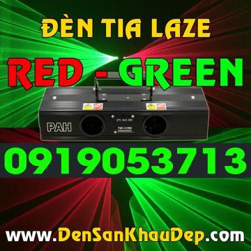 Đèn tia Laze 2 màu Red Green