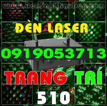 Đèn Trang Trí Laser chiếu hình chữ