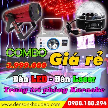 Combo 3 đèn trang trí phòng Karaoke giá rẻ
