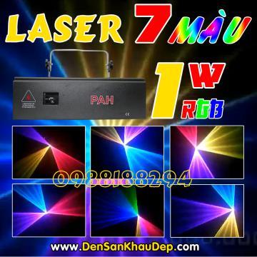 Laser 7 màu 1W tầm trung
