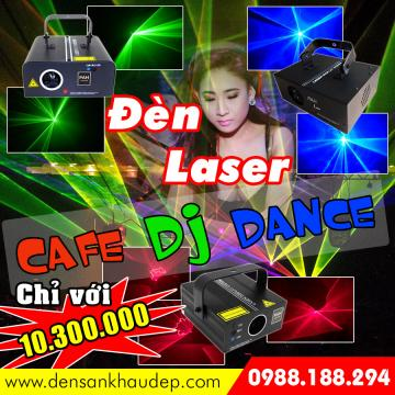 Đèn Laser Cafe DJ Dance