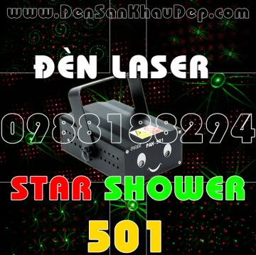 Đèn Laser Star Shower 501RG