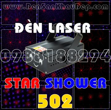 Đèn Laser Star Shower 502RB
