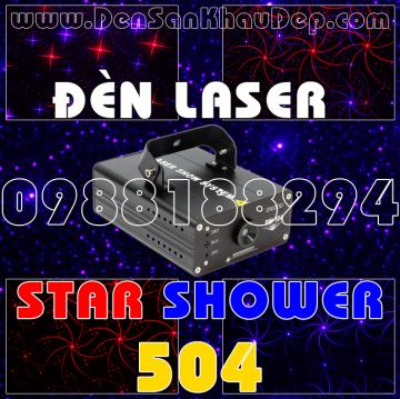 Đèn Laser Star Shower 504RB
