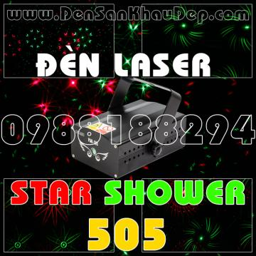 Đèn Laser Star Shower 505RG