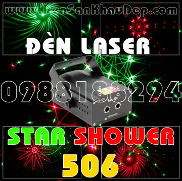 Đèn Laser Star Shower 506RG