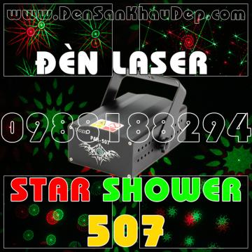 Đèn Laser Star Shower 507RG