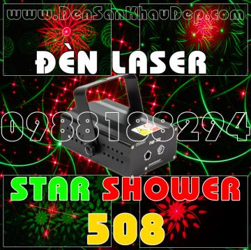Đèn Laser Star Shower 508RG