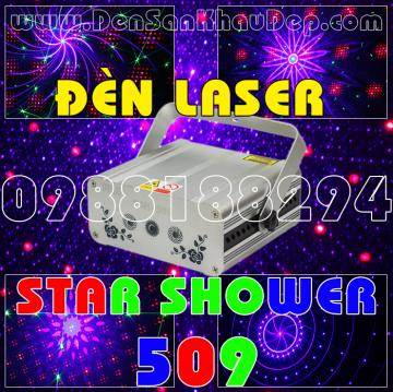 Đèn Laser Star Shower 509RGB