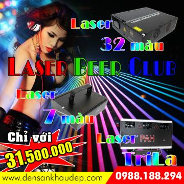 Đèn Laser trang trí Beer Club