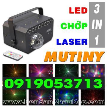 Đèn LED Chớp Laser trang trí Karaoke