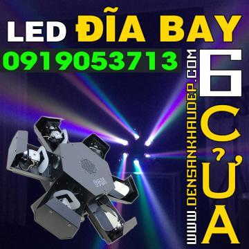 LED đĩa bay 6 cửa