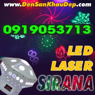 Đèn LED Laser Sirana cho Karaoke
