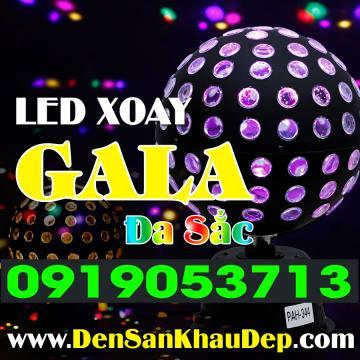 LED Nhím Gala xoay đa sắc
