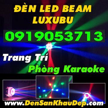 Đèn LED Beam Xoay Luxubu