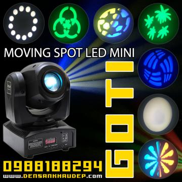Moving Spot LED Mini Giá Rẻ