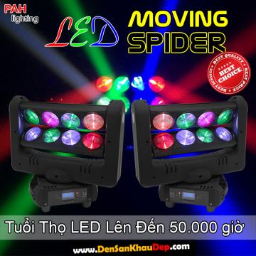 Moving LED Spider