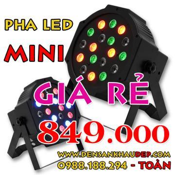 Pha LED mini giá rẻ