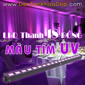 LED thanh màu tím UV phản quang