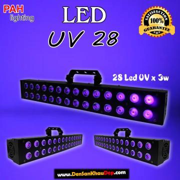 LED pha UV cực tím huyền ảo