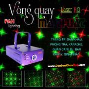 Máy chiếu Laze vòng quay ma thuật 4 hiệu ứng