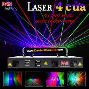 Đèn Laser 4 cửa Legal RGBP 4 màu độc đáo quét tia phủ rộng quán cafe dj